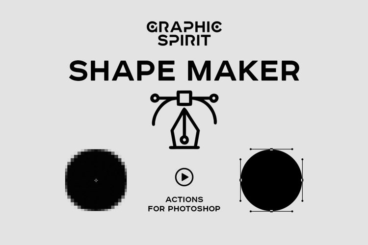 Path & Shape Maker for Photoshop example image 1