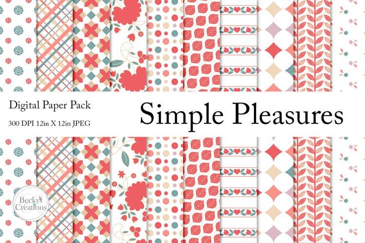 Simple Pleasures Paper Pack example image 1