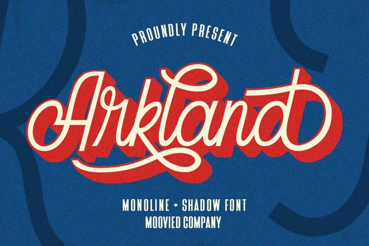 Arkland Monoline Shadow example image 1