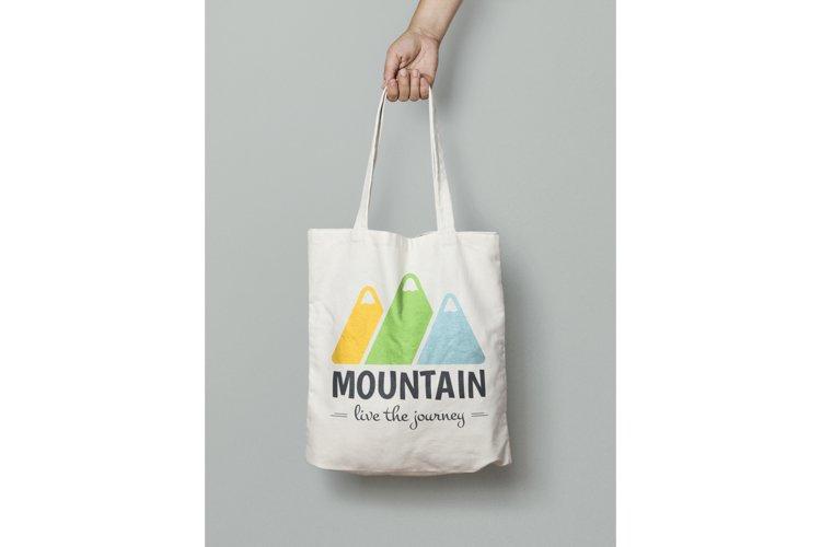 Mountain Logo Template example 2