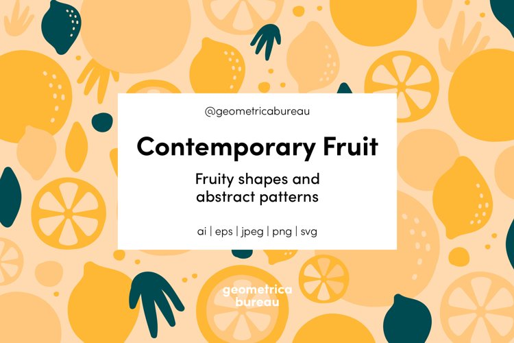 Contemporary Fruit example image 1