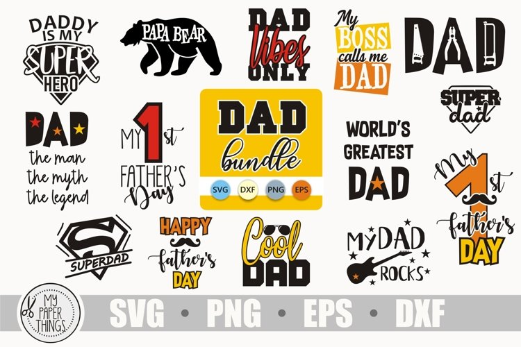 Fathers day svg bundle, Dad svg