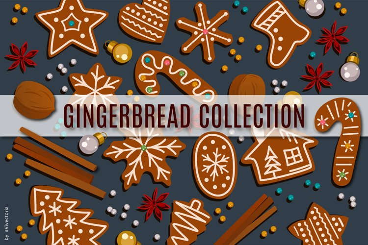 New Year Gingerbread set