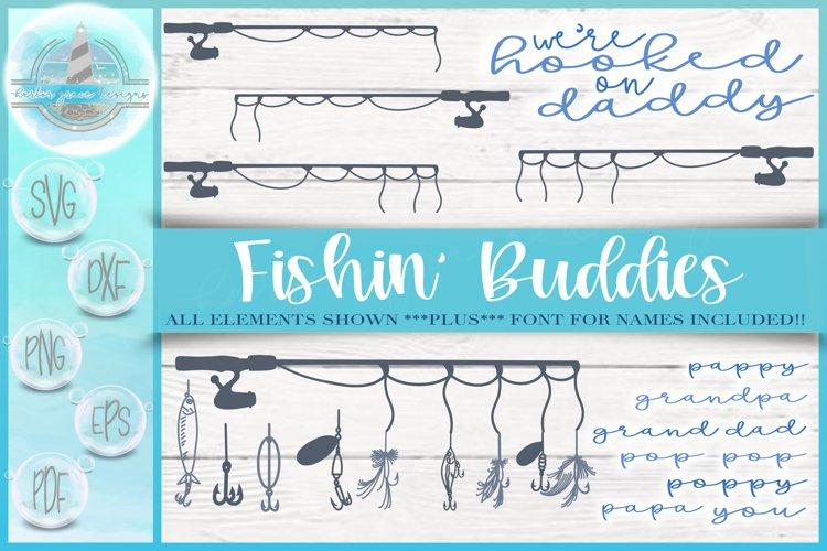 Download Fishing Bundle Hooked On Daddy Bundle Font Included 669985 Cut Files Design Bundles