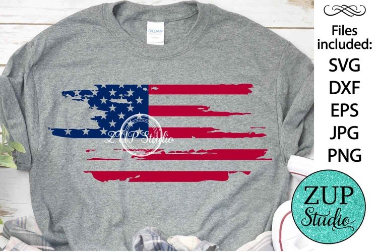 New! America National Day Design Digital Cutting files 493 example image 1