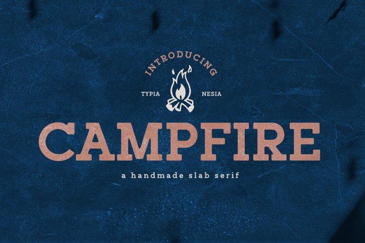 Campfire Slab Serif example image 1