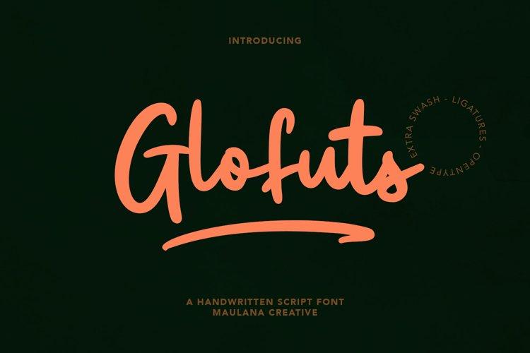 Glofuts Handwritten Script Font example image 1