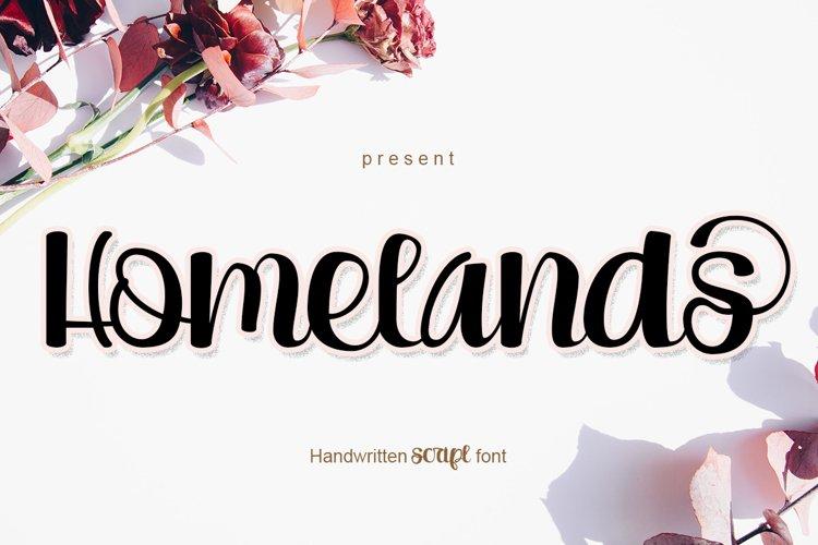 Homelands example image 1