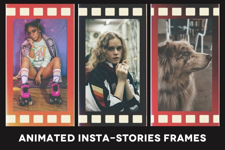 Animated Insta-Stories Photoshop Template