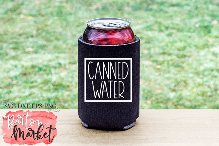 Canned Water for Crafters