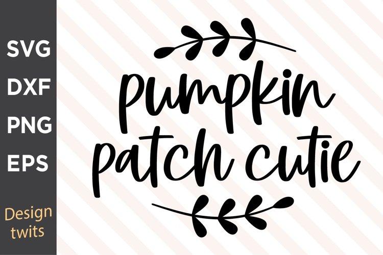 Pumpkin Patch Cutie SVG example image 1