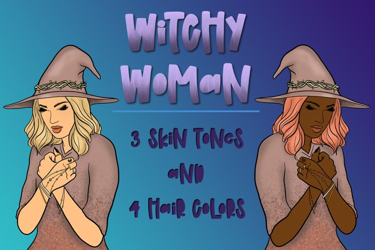 Witchy Woman  Magical Witch Crystal Ball Witch Clipart   PNG