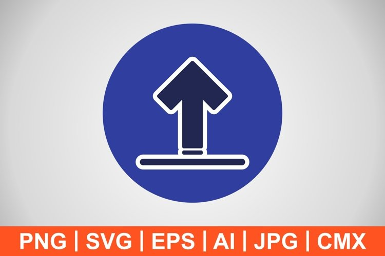 Vector Upload Icon example image 1