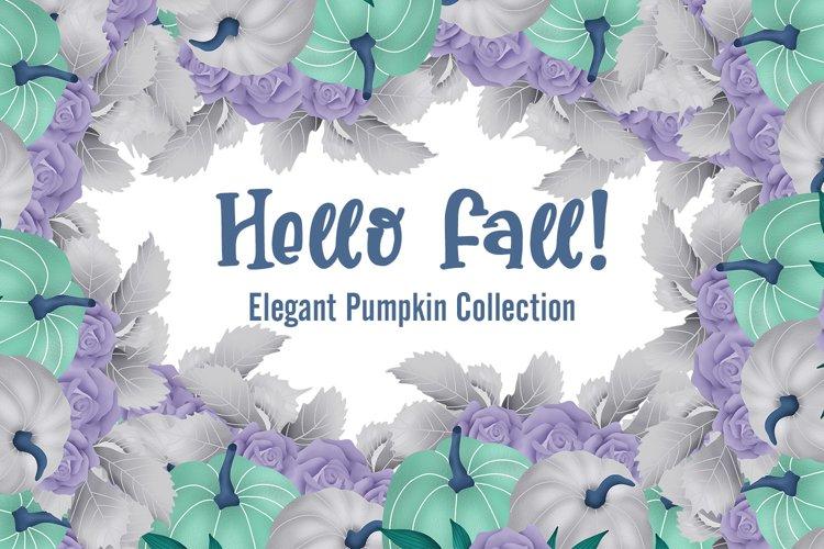 Hello Fall! Elegant Pumpkin Collection example image 1