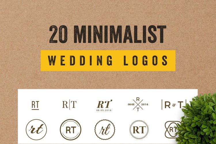 20 Elegant Minimalist Logo Bundles Vol.2 example image 1