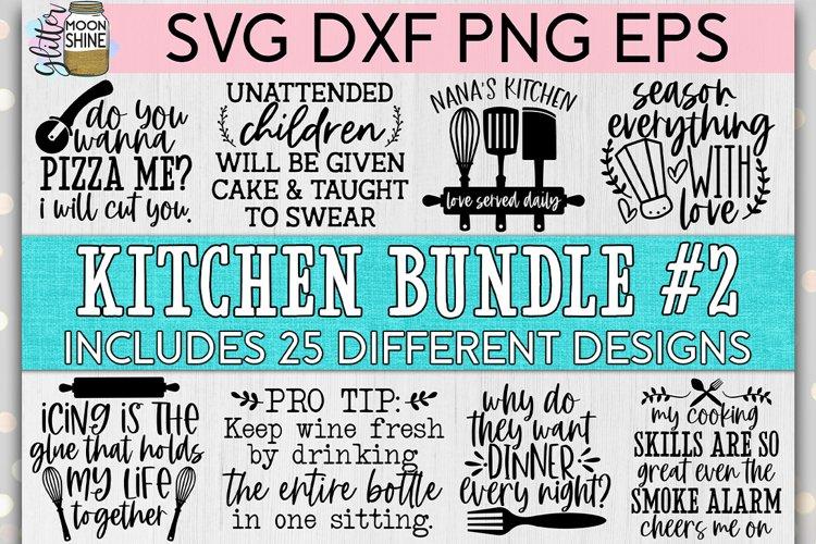 Huge Kitchen Bundle of 25 #2 SVG DXF PNG EPS