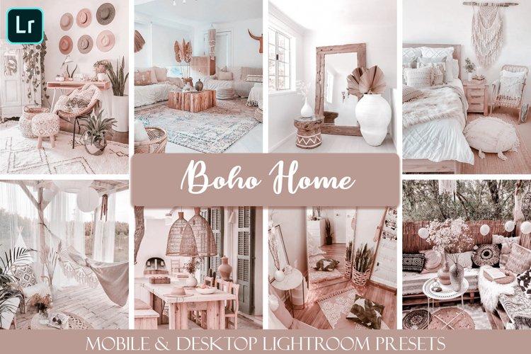 Boho Home Mobile & Desktop Ligthroom Presets example image 1
