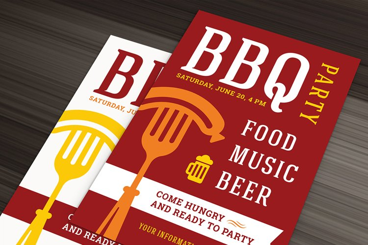 Barbecue Party Flyer Template example image 1