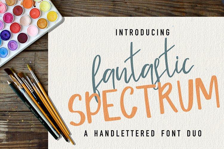 Fantastic Spectrum-Font Duo example image 1