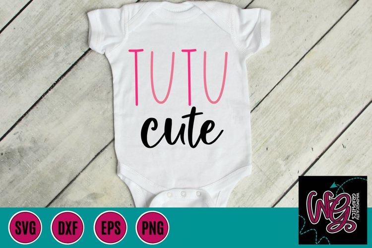 TuTu Cute SVG, DXF, PNG, EPS