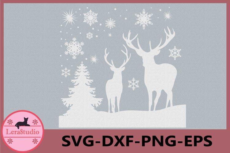 Deer Svg, Deer Original Design, Deer Silhouettes SVG, Deer