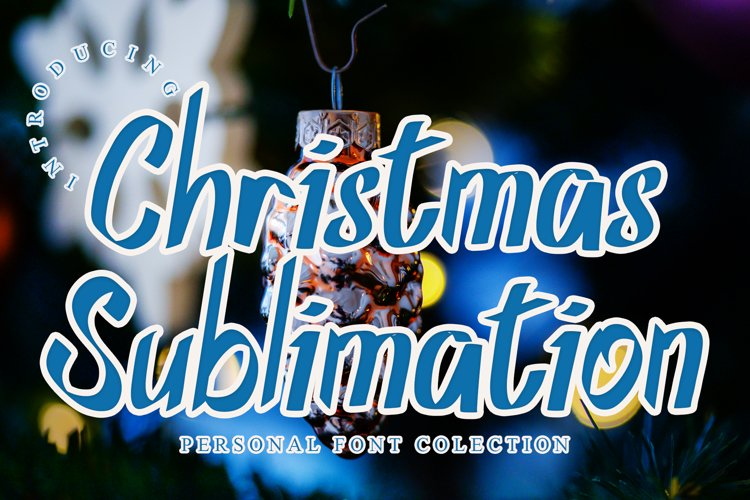 Christmas Sublimation example image 1