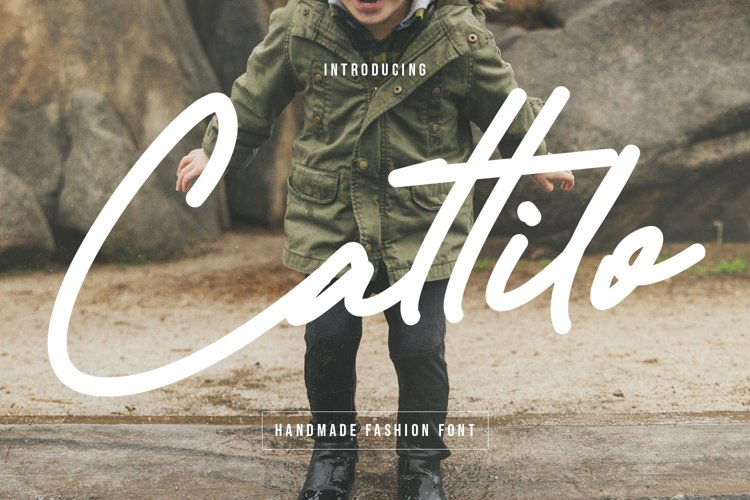 Cattilo Kids Handmade Fashion Font example image 1