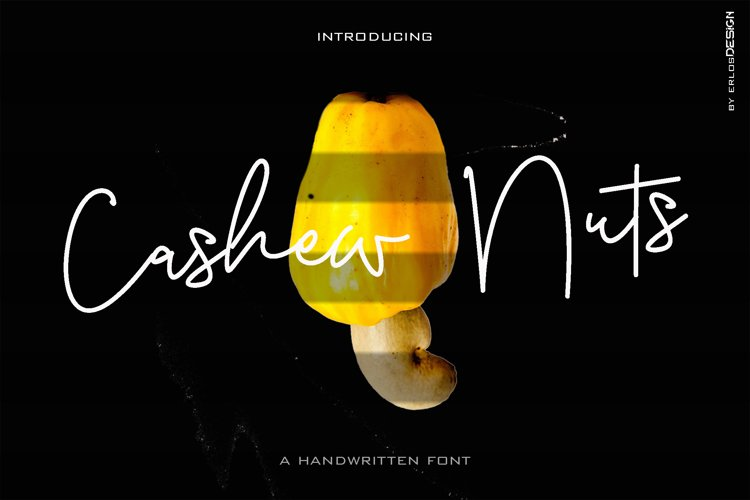 Cashew Nuts Font example image 1