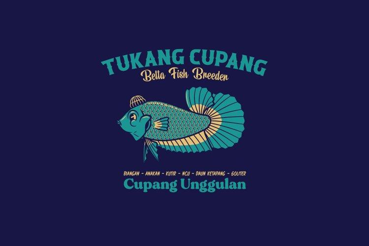 Tukang Cupang Logo Template example image 1