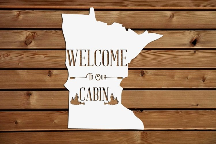 Welcome to our Cabin Graphics files, svg, png, jpg, example image 1