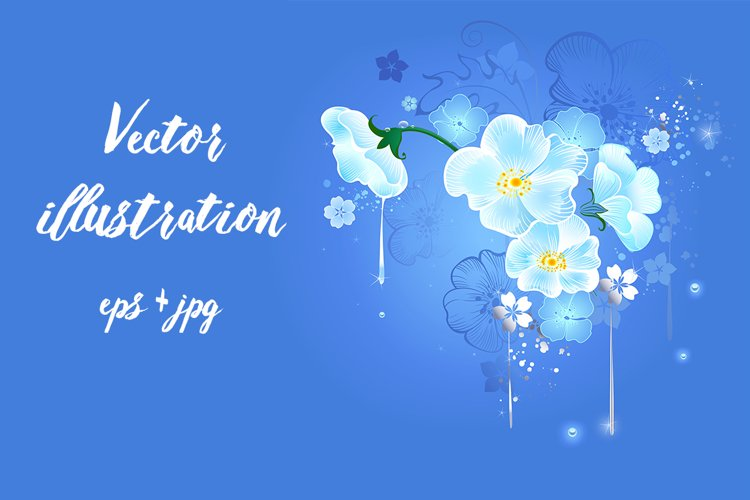 Magic White Flowers example image 1