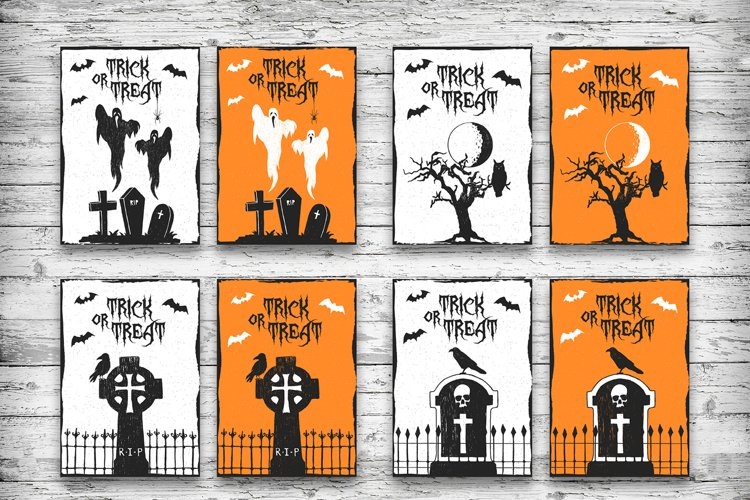 Halloween. 20 Greeting Cards - Free Design of The Week Design3