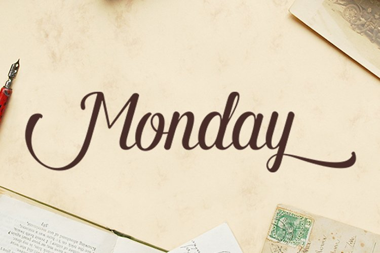 Monday Script example image 1