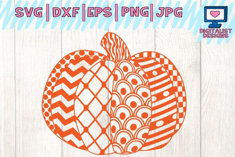 halloween, pumpkin, fall, zentangle, pattern, svg