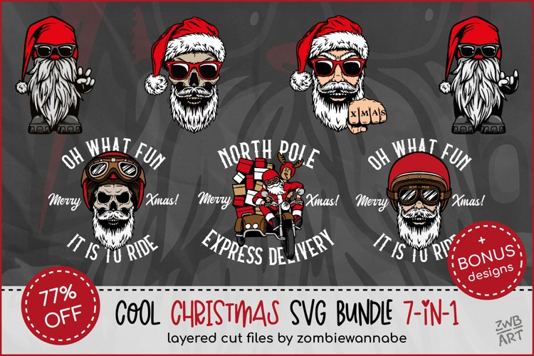 Cool Christmas Bundle for Crafters - Bikers, Gnomes & Skulls