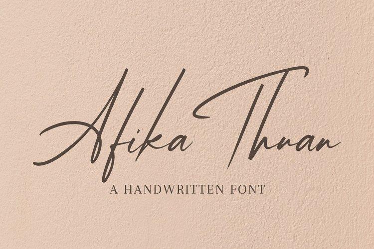 Afika Thuan example image 1