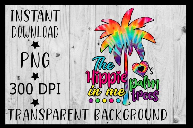 Palm tree Clipart PNG Bundle Tie Dye , Vector , Beach png