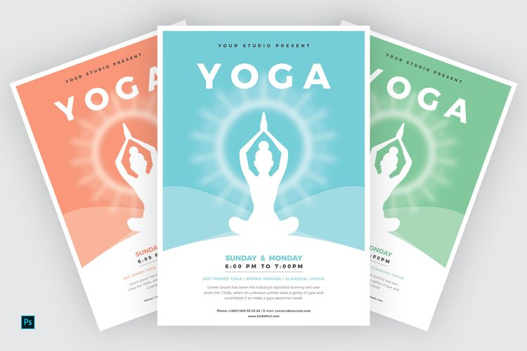 Yoga Flyer Template example image 1