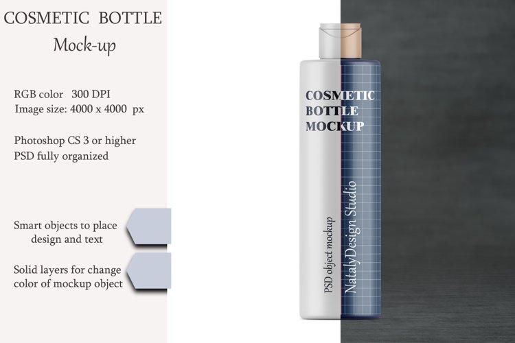Cosmetic bottle mockup. Product mockup. example image 1