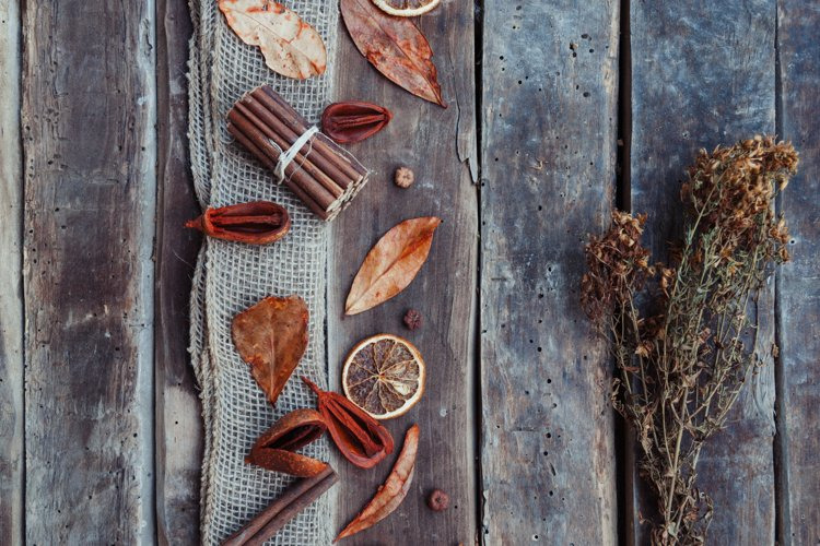 Potpourri dried fruits, herbs example image 1