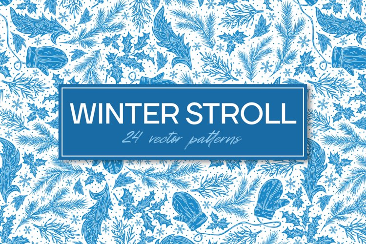Winter Stroll patterns example image 1