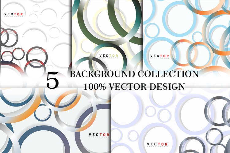 set bundle vector background . vol 47 example image 1