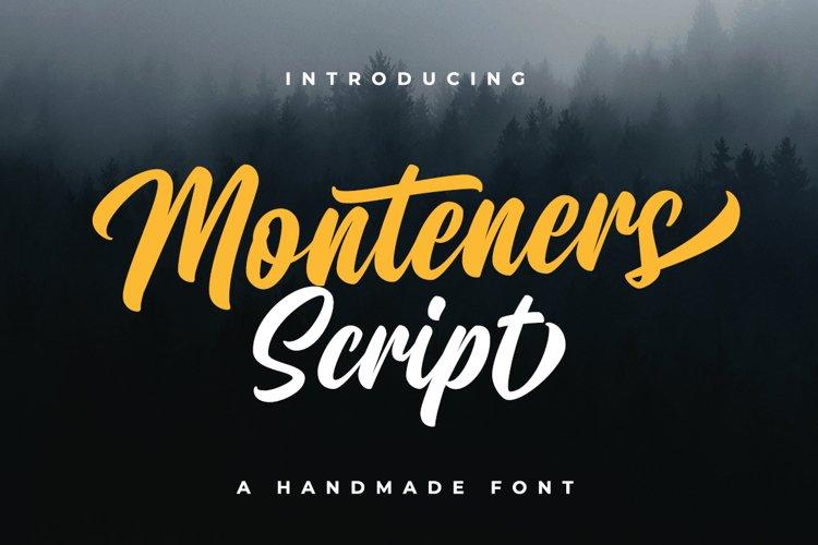 Monteners Script example image 1
