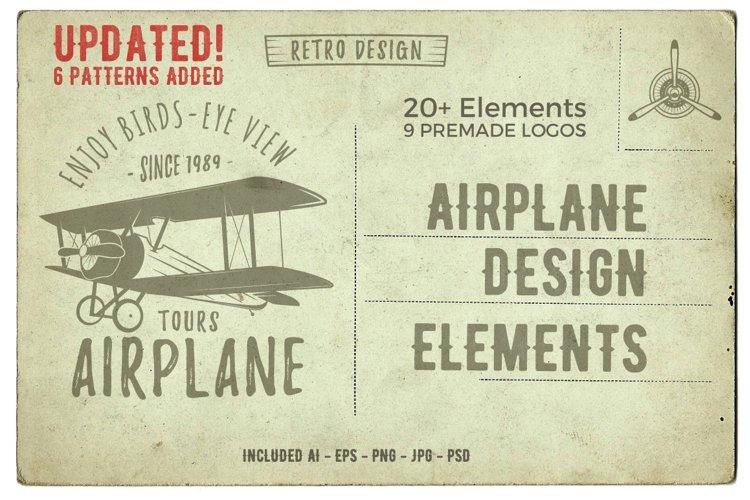 Airplane SVG Logo   Silhouette Plane Icons Bundle DXF PNG