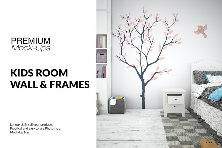 Nursery Frames & Wall Set example image 1