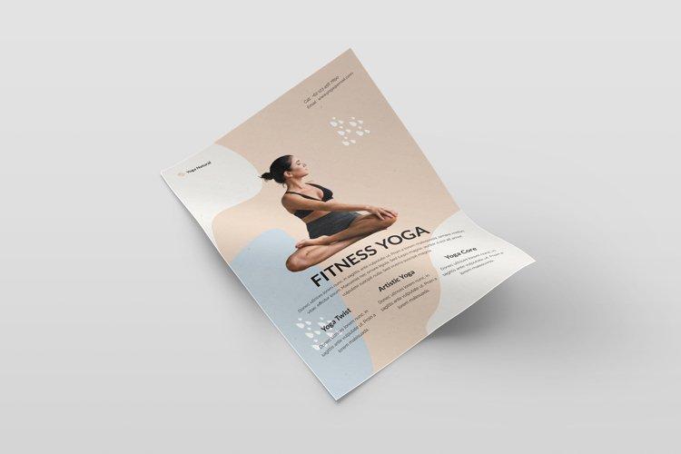 Yoga Flyer Tempate example image 1