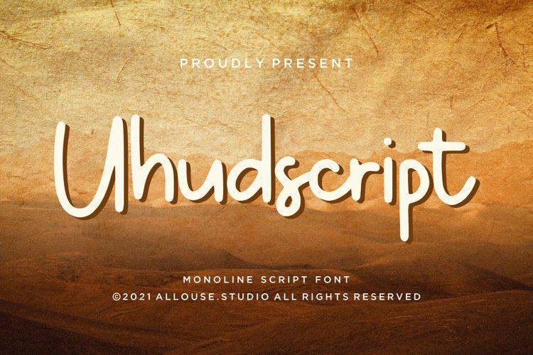 Uhudscript example image 1
