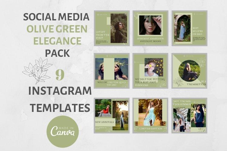 Instagram Post Template- Elegance example image 1