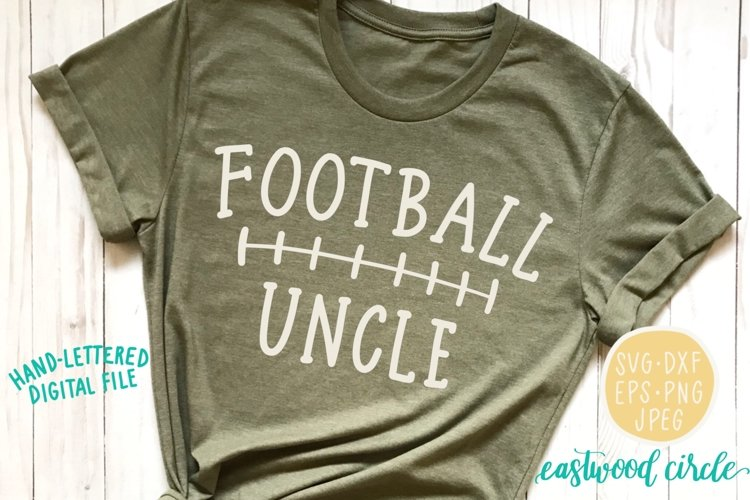 Football Uncle SVG example image 1