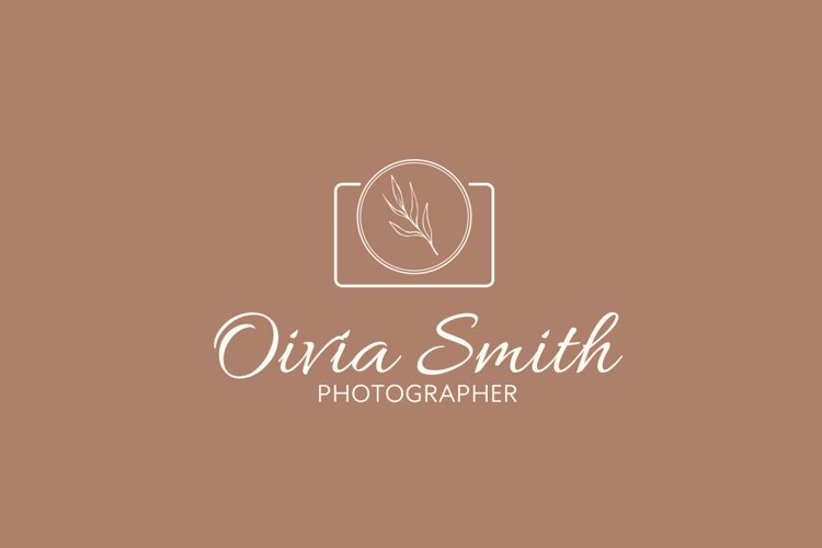 LOGO design, Photography, logo template,simple and elegant, example image 1